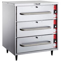 Vulcan VW3S Freestanding Three Drawer Warmer - 120V, 1425W