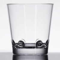 GET SW-1474-CL Loft 12 oz. Customizable SAN Plastic Stackable Double Rocks / Old Fashioned Glass - 24/Case