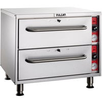 Vulcan VSL2 Slim-Line Low Profile Two Drawer Warmer - 120V, 950W