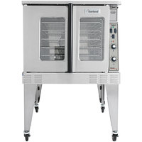 Garland MCO-ED-10-S Single Deck Deep Depth Full Size Electric Convection Oven - 208V, 1 Phase, 10.4 kW