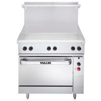 Vulcan EV36S-36G240 Endurance Series 36 inch Electric Range with Griddle Top - 240V, 15.2 kW