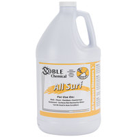 Noble Chemical 1 Gallon / 128 oz. All Surf All Purpose Liquid Cleaner (Non-Butyl) - 4/Case