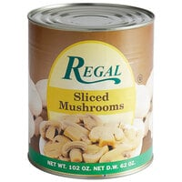 Regal Sliced Mushrooms - #10 Can - 6/Case