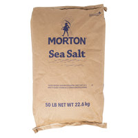Morton 50 lb. Bulk Fine Sea Salt