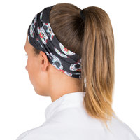 Headsweats Black Skull Full Ultra Band Headband