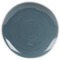 Arcoroc FJ724 Canyon Ridge 10 5/8 inch Blue Porcelain Plate by Arc Cardinal - 18/Case