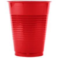 Creative Converting 28103181B 16 oz. Classic Red Plastic Cup - 600/Case