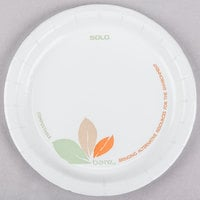 Bare by Solo MP6B-J7234 6 inch Medium Weight Paper Plate - 1000/Case