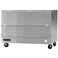 Continental Refrigerator MC5-SS-SCW 58 inch Stainless Steel 1 Sided Cold Wall Milk Cooler