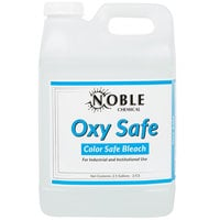 Noble Chemical 2.5 Gallon Oxy Safe Color-Safe Bleach   - 2/Case