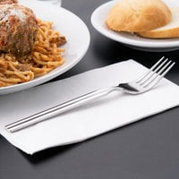 World Tableware 969 027 Madison 7 7/8 inch 18/8 Stainless Steel Extra Heavy Weight Dinner Fork - 36/Case