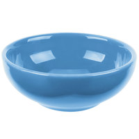 Syracuse China 903043002 Cantina 5 oz. Blueberry Uncarved Porcelain Salsa Bowl - 12/Case