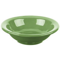 Syracuse China 903046172 Cantina 4 oz. Sage Uncarved Porcelain Fruit Bowl - 36/Case