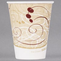 Solo IC8-J8000 Duo Shield Symphony 8 oz. Poly Paper Hot Cup - 1000/Case