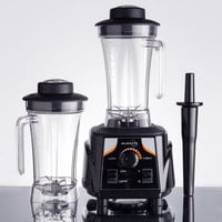 Avamix BX2000V 3 1/2 hp Commercial Blender with Toggle Control, Adjustable Speed, and Two 64 oz. Polycarbonate Containers
