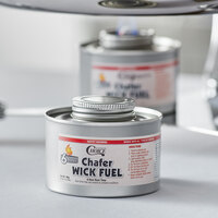 Choice 6 Hour Wick Chafing Dish Fuel with Safety Twist Cap - 2/Pack