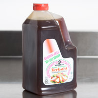 Kikkoman .5 Gallon Less Sodium Gluten Free Teriyaki Marinade and Sauce - 6/Case