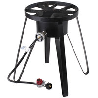 Backyard Pro 21 inch Tall Outdoor Gas Range / Patio Stove - 55,000 BTU