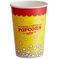 Carnival King 46 oz. Popcorn Cup - 50/Pack