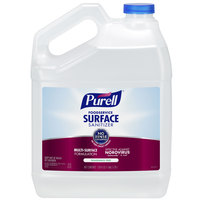 Purell 4341-04 1 Gallon / 128 oz. Fragrance-Free Foodservice Surface Sanitizer - 4/Case