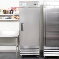 Avantco A-19F-HC 29 inch Solid Door Reach-In Freezer