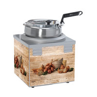 Nemco 6510A-S7P Single Well 7 Qt. Soup Warmer - 120V, 550W