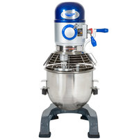 Vollrath 40757 20 Qt. Commercial Planetary Stand Mixer with Guard - 1/2 hp
