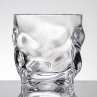 GET SW-1440-1-CL L7 12 oz. SAN Plastic Stackable Double Rocks / Old Fashioned Glass - 24/Case