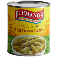 Furmano's #10 Can Italian Style Cut Green Beans