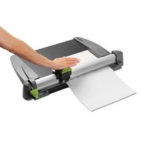 Swingline 9615 SmartCut 15 inch x 20 inch 30 Sheet Commercial Heavy-Duty Rotary Paper Trimmer with Metal Base