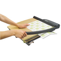Swingline 9118 ClassicCut Pro 18 inch Square 15 Sheet Guillotine Paper Trimmer with Wood Composite Base