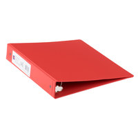 Avery 3410 Red Economy Non-View Binder with 1 1/2 inch Round Rings