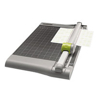 Swingline 9612 SmartCut 12 inch x 22 inch 30 Sheet Commercial Heavy-Duty Rotary Paper Trimmer with Metal Base