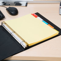 Avery 11109 Big Tab Buff Paper 5-Tab Multi-Color Insertable Dividers