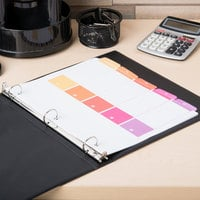 Avery 11131 Ready Index 5-Tab Multi-Color Table of Contents Dividers