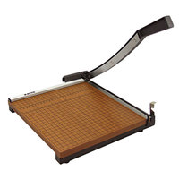 X-Acto 26615 15 inch Square 15 Sheet Commercial Guillotine Paper Trimmer with Wood Base