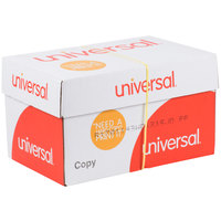 Universal Office UNV28110 11 inch x 17 inch White Case of 20# Copy Paper - 2500 Sheets