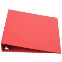 Universal UNV33403 Red Economy Non-Stick Non-View Binder with 1 1/2 inch Round Rings