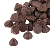 25 lb. Pure Semi-Sweet 1M Chocolate Baking Chips with Real Vanilla