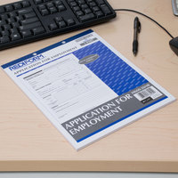 Rediform Office M66026NR Employment Application Book - 50 Sheets