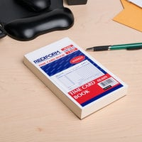 Rediform Office 4K409 Weekly Employee Time Card Book - 100 Sheets