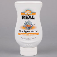 Real 16.9 fl. oz. Blue Agave Nectar Natural Sweetener