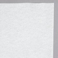 Hoffmaster 260047 40 inch x 100' Linen-Like White Paper Roll Table Cover