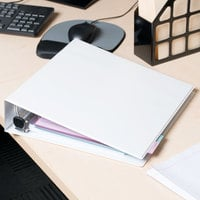 Avery 79192 White Heavy-Duty View Binder with 2 inch Locking One Touch EZD Rings