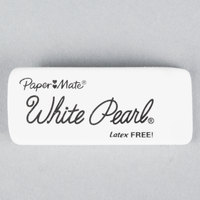 Paper Mate 70626 White Pearl Eraser - 12/Box