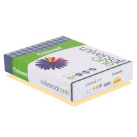 Universal Office UNV11205 8 1/2 inch x 11 inch Goldenrod Ream of 20# Color Copy Paper - 500 Sheets