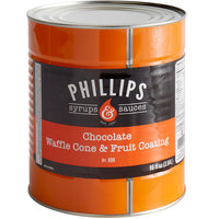 Phillips Chocolate Ice Cream Cone Dip - #10 Can