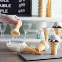 Phillips White Chocolate Ice Cream Cone Dip - #10 Can