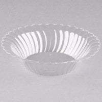 Fineline 211-CL Flairware 10 oz. Clear Plastic Bowl - 180/Case