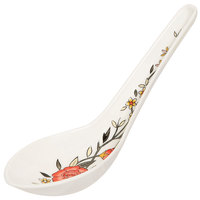 GET M-6030-CG Garden 0.65 oz. Melamine Soup Spoon - 60/Case